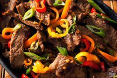 Pepper Steak - ooh. I made this the other night and we all loved it! It's a keeper!