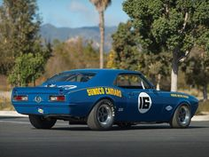 "Camaro Sunoco ""Lightweight"" 1968, Trans Am Race Car"