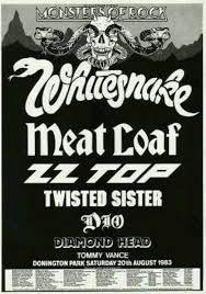Resultado de imagen para old school metal 80s poster