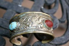 SALE...Vintage Indian Cuff Bracelet SUPER HOT super sexy with