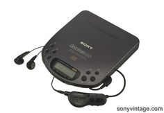 The sweet Sony Discman that my brother handed down to me