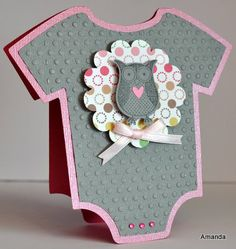 homemade owl craft for baby shower girl | ... Baby Girl Card with Owl Blog | Scrapbooking | Card Making | Crafts