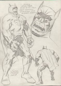Super Monster by Jack Kirby  via Comic Art Gallery Room