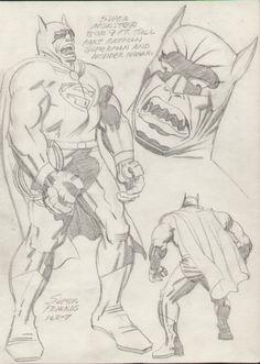 Super Monster by Jack Kirby  via Comic Art Gallery Room