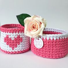 St.Valentine's Day is coming!💓 this wonderful baskets set will be a nice gift for the one you love 💝