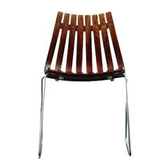 """Oh my. Rosewood chair, """"Scandia"""" series by the Norwegian designer Hans Brattrud. 1950s."""