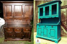 Teal Hutch by FunCycled  www.funcycled.com