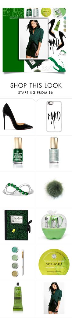 """It's so simple"" by fia-sim-77 ❤ liked on Polyvore featuring beauty, Christian Louboutin, Casetify, Mavala, Bobbl, Olympia Le-Tan, Terre Mère, Sephora Collection, Aesop and Boohoo"