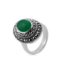 Vancaro offer the best and unique jewelry including promise rings, engagement rings, wedding rings and couple band rings for our customers. Jewelry Rings, Unique Jewelry, Jewellery, Green Colour Palette, Marcasite Jewelry, Vintage Style Rings, Green Agate, Promise Rings, Band Rings