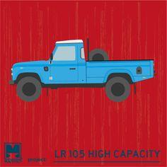 Land Rover D-105 High Capacity