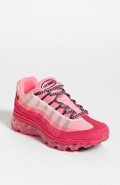 I would run faster with these lol!  Nike 'Air Max 95' Sneaker (Women) available at #Nordstrom