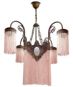 funky schlafzimmerbeleuchtung pinterest antique art deco nouveau french pink fringes hollywood regency bronze chandelier 7140 besten lamps continued bilder auf pinterest in 2018