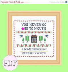 Cross Stitch Pattern by DisorderlyStitches