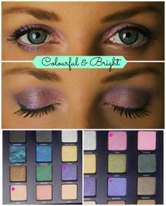 Cute eyeshadow idea using Urban Decay Vice 2 palette. Just got this palette, excited to try this look out. via liparazziblog