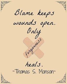 Mostly it keeps your own wounds open. The other person may not even know that they've hurt or offended you.