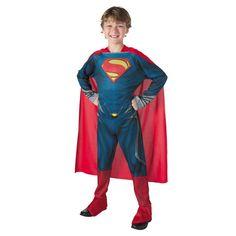 Man Of Steel(TM) Superman(TM) Boys Halloween Costume - Medium