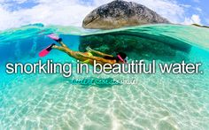Snorkling - little reasons to smile