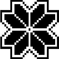 Pixel Flower Icon