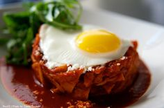 chilaquiles by my favorite Rick Bayless