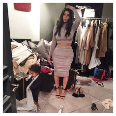 I would like her bank account and her closet.  How to Organize Your Closet Like Kim Kardashian West