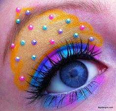 Candy Cupcake Makeup look