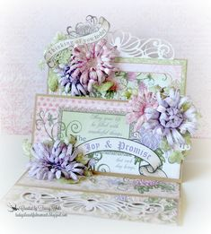 created with the Enchanted Mum Collection by Heartfelt Creations Mothers Day Cards, Happy Mothers Day, Heartfelt Creations Cards, Spring Crafts For Kids, Step Cards, Rainbow Crafts, Fathers Day Crafts, Flower Cards, Flower Making