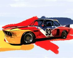 BMW 3.0 CS by John Anthony Sahs