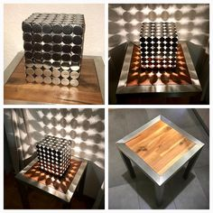 #decoration #design #wood #welding #stainlesssteel #instagood #picoftheday #art #followme #style #swag #lifeisart @ I LOVE TO CREATE !