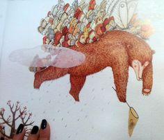 Ours et les papillons - par Susanna Isern & Marjorie Pourchet
