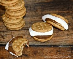 Girl Scout Cookie S'mores via Lilyshop Blog by Jessie Jane