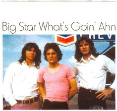 what's goin' ahn, big star Great Bands, Cool Bands, Alex Chilton, Rock Band Photos, Power Pop, William Eggleston, Big Star, Memphis, The Beatles
