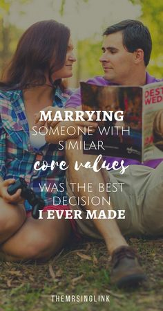 Marrying Someone With Similar Core Values Was The Best Decision I Ever Made   #marriage   Finding the one   Relationship tips to finding your soulmate   #marriageadvice   Dating tips   Love and marriage help and advice   Couples advice   theMRSingLink