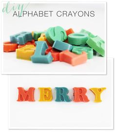Sometimes it's the simplest of projects that lend the most amount of fun. And these little gems are about as good as it gets. DIY crayons where your children's imagination can take center stage. We opted for fun alphabet letters because our 4 year old is learning to spell but you could really do anything...hearts,…