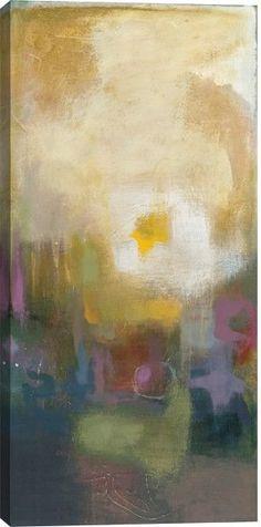 Seasonal Tones III Abstract Canvas Wall Art Print by Bailey