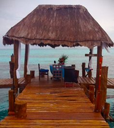 Casa de los Suenos, Isla Mujeres Mexico.  Romantic Pier Dinner.  www.casasuenos.com
