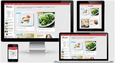 Blogger Yemek Tarifleri Teması İndir - Blogger Türkçe Temalar