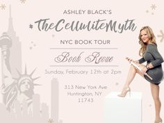 My first EVER public book signing event for is in on We will have giveaways and lots of fun prizes! Come meet me and my team and get your book signed! Fascia Blasting, Ashley Black, Book Signing, Cellulite, Giveaways, Public, Nyc, Meet, Events