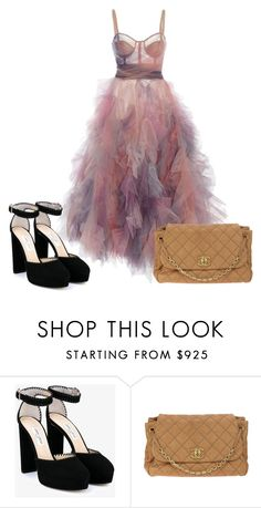 """""""Untitled #951"""" by maria-cmxiv on Polyvore featuring Jimmy Choo and Chanel"""