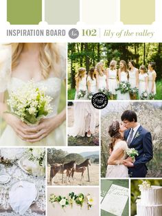 Lily of the Valley Wedding Inspiration // @kgcrone01 check out dis site