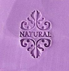 Natural Soap Stamp Handmade Soap Stamp Letter Soap Stamp by AMYDIY