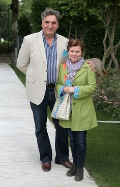 Mr. Carson from Downton Abbey is married to Professor Umbridge from Harry Potter, in real life. Mind blown!