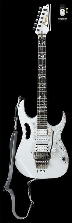 The new Ibanez EVO - The 25th anniversary of Steve Vai's Jem