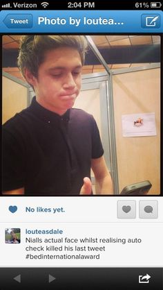 Oh Niall.