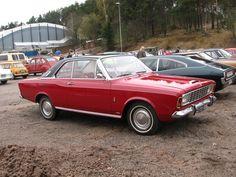 1968 Ford Taunus 20M P7 hardtop coupé