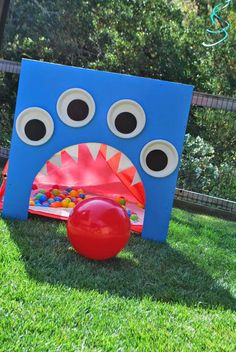 Monsters Birthday Party Ideas | Photo 10 of 28 | Catch My Party