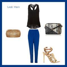 Azul bic como combinar: Look do dia | Delicadelas™