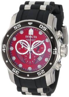 awesome Invicta Men's 6979 Pro Diver Collection Chronograph Black Polyurethane Watch  –  Prosociate