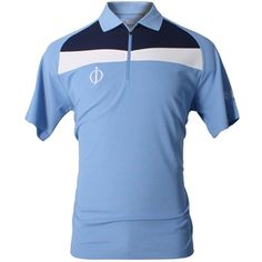 "Oscar Jacobson 2012 Men's Cole ""OJ Logo"" Polo Shirt - Seascape"