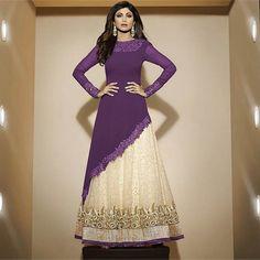 #Designer Collection of #georgette #salwar #kameez #suit with latest trending design and color. Shop now --> http://www.ishimaya.com/salwar-kameez/puregeorgette.html