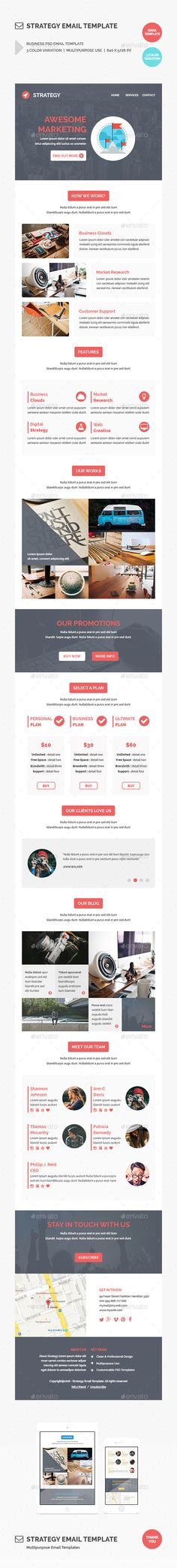 Flat Newsletter Newsletter templates, Flats and Template - email newsletter template